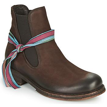 Pantofi Femei Ghete Felmini COOPER Maro