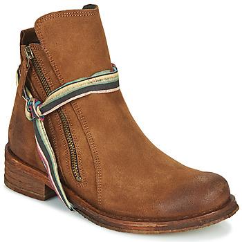 Pantofi Femei Ghete Felmini COOPER Camel