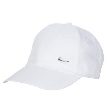 Accesorii textile Sepci Nike U NSW H86 METAL SWOOSH CAP Alb / Argintiu