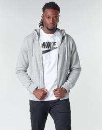 Îmbracaminte Bărbați Hanorace  Nike M NSW CLUB HOODIE FZ BB Gri