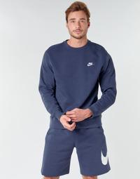 Îmbracaminte Bărbați Hanorace  Nike M NSW CLUB CRW BB Albastru