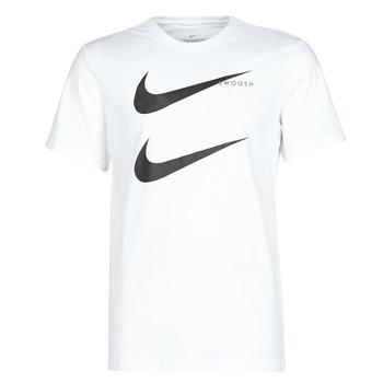 Îmbracaminte Bărbați Tricouri mânecă scurtă Nike M NSW SS TEE SWOOSH PK 2 Alb