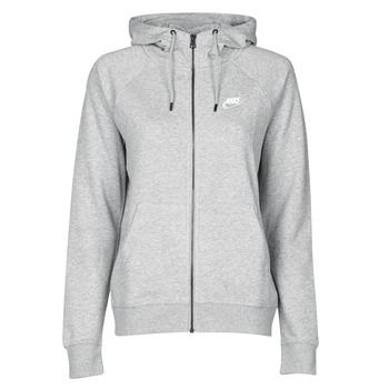 Îmbracaminte Femei Hanorace  Nike W NSW ESSNTL HOODIE FZ FLC Gri