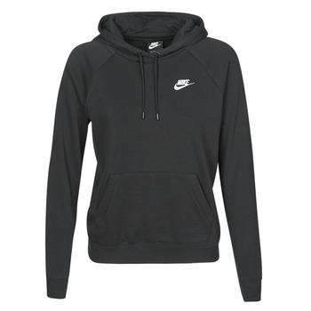 Îmbracaminte Femei Hanorace  Nike W NSW ESSNTL HOODIE PO FLC Negru