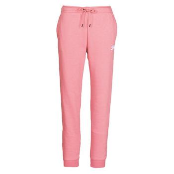 Îmbracaminte Femei Pantaloni de trening Nike W NSW ESSNTL PANT REG FLC Roz
