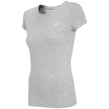Îmbracaminte Femei Tricouri mânecă scurtă 4F TSD001 Gri