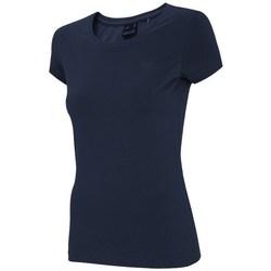 Îmbracaminte Femei Tricouri mânecă scurtă 4F TSD001 Albastru marim