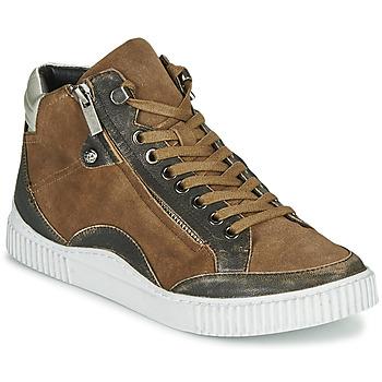 Pantofi Femei Pantofi sport stil gheata Regard ISLANDE V2 BONGO CHAMOIS Maro