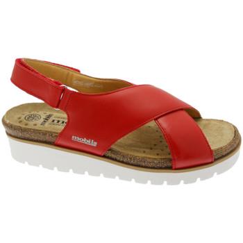 Pantofi Femei Sandale  Mephisto MEPHTALLYro rosso