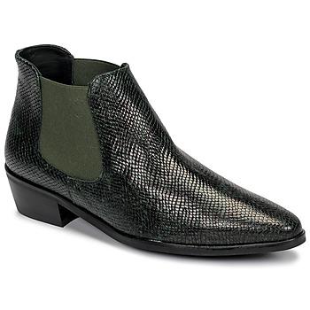 Pantofi Femei Ghete Fericelli NANARUM Negru / Verde