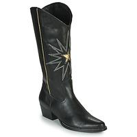 Pantofi Femei Cizme casual Fericelli NISCOME Negru / Auriu