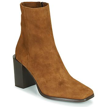 Pantofi Femei Botine Fericelli NRETZEL Camel