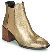 Pantofi Femei Botine Fericelli NIOCHE Auriu