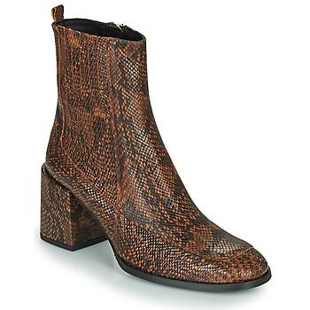 Pantofi Femei Botine Fericelli NAKE Negru / Maro