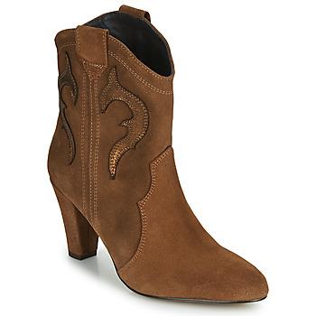 Pantofi Femei Botine Fericelli NARLOTTE Camel / Auriu