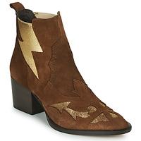 Pantofi Femei Botine Fericelli NAUSSON Bej / Auriu