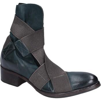 Pantofi Femei Botine Moma stivaletti pelle Verde