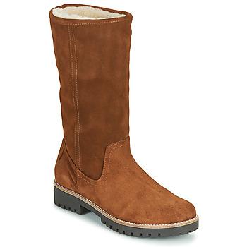 Pantofi Femei Cizme casual Casual Attitude NESCAGO Camel