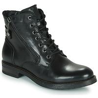 Pantofi Femei Ghete Casual Attitude NUNAISE Negru