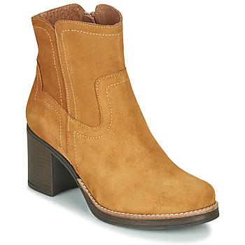 Pantofi Femei Botine Casual Attitude NIGALE Camel