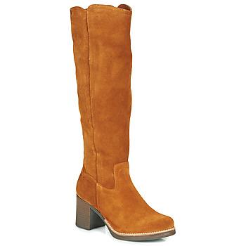 Pantofi Femei Cizme casual Casual Attitude HAPI Camel