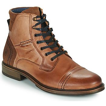 Pantofi Bărbați Ghete Casual Attitude HOKES Maro