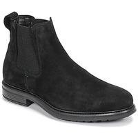 Pantofi Bărbați Ghete Casual Attitude NONILLE Negru