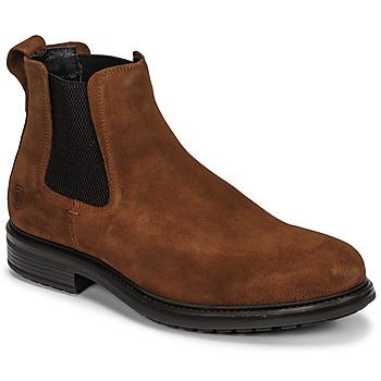 Pantofi Bărbați Ghete Casual Attitude NONILLE Maro