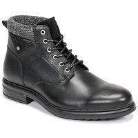 Pantofi Bărbați Ghete Casual Attitude NAPILLON Negru
