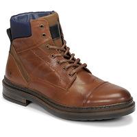 Pantofi Bărbați Ghete Casual Attitude NYSOPE Camel