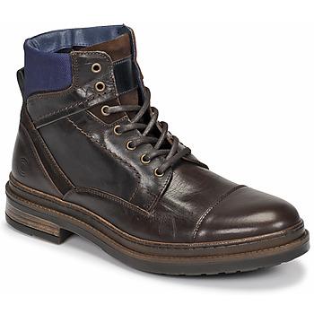 Pantofi Bărbați Ghete Casual Attitude NYSOPE Maro