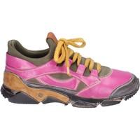 Pantofi Femei Pantofi sport Casual Moma sneakers pelle tessuto Rosa