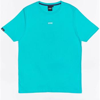 Îmbracaminte Băieți Tricouri mânecă scurtă Wrung T-shirt  Caution Reload bleu turquoise/bleu