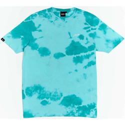 Îmbracaminte Băieți Tricouri mânecă scurtă Wrung T-shirt  New Sign bleu turquoise/blanc/noir