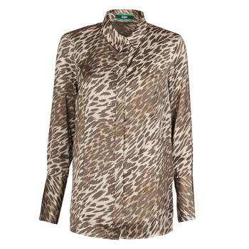 Îmbracaminte Femei Topuri și Bluze Guess VIVIAN Leopard