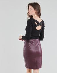 Îmbracaminte Femei Topuri și Bluze Guess AYADA Negru