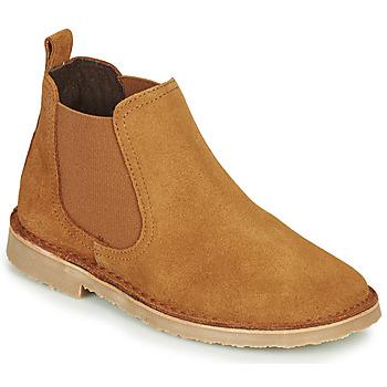 Pantofi Copii Ghete Citrouille et Compagnie HOVETTE Camel