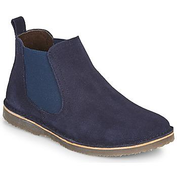 Pantofi Băieți Ghete Citrouille et Compagnie HOVETTE Albastru