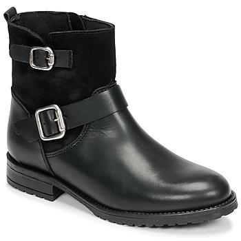 Pantofi Fete Ghete Citrouille et Compagnie NIVOLE Negru