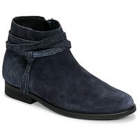 Pantofi Fete Ghete Citrouille et Compagnie NIVOLET Albastru