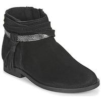 Pantofi Fete Ghete Citrouille et Compagnie NIVOLET Negru