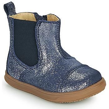 Pantofi Fete Ghete Citrouille et Compagnie FEPOL Albastru
