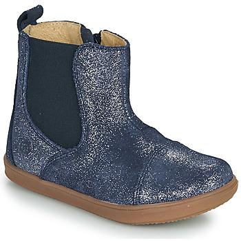 Pantofi Fete Ghete Citrouille et Compagnie FEPOL Bleumarin