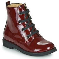 Pantofi Fete Ghete Citrouille et Compagnie HEMANU Bordo