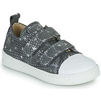 Pantofi Fete Pantofi sport Casual Citrouille et Compagnie NADIR Gri / Argintiu