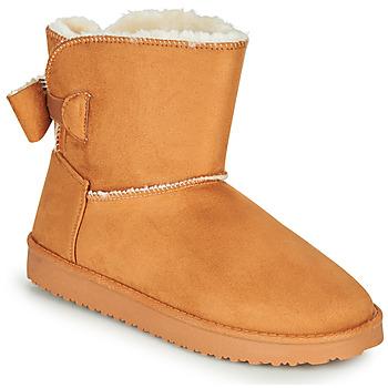 Pantofi Femei Ghete Moony Mood NOWER Camel