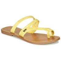 Pantofi Femei  Flip-Flops Les Petites Bombes TEXANE Ocru