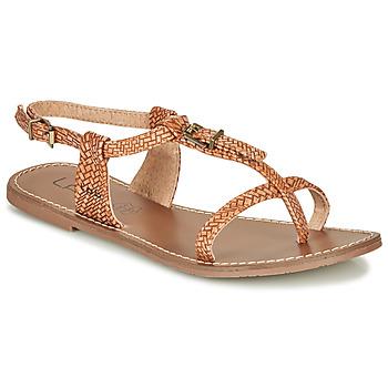 Pantofi Femei Sandale  Les Petites Bombes ZHOEF Camel