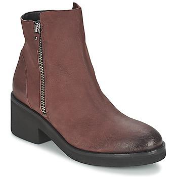 Pantofi Femei Ghete Vic ASCILLE Roșu-bordeaux