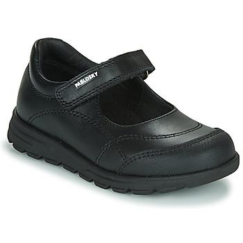 Pantofi Fete Balerin și Balerini cu curea Pablosky 334210 Negru